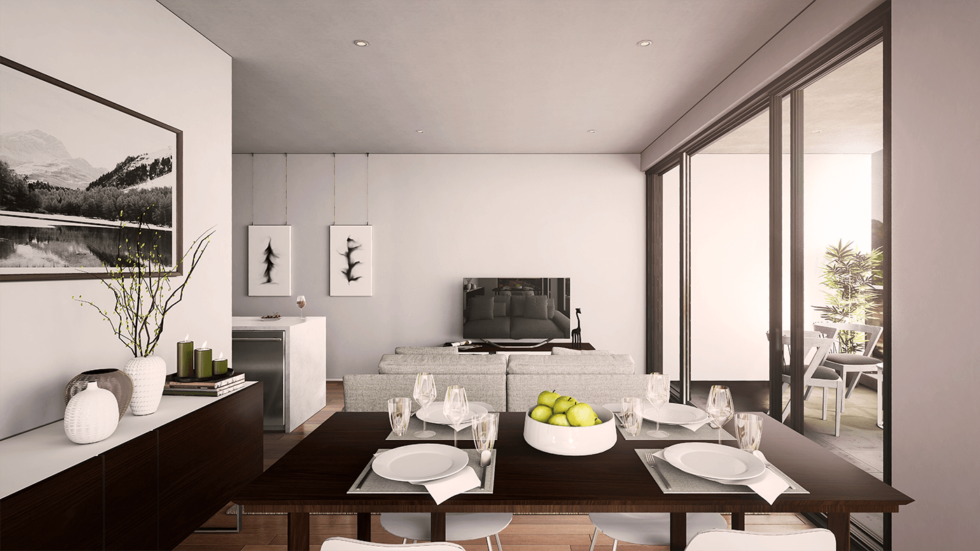 Highview Living Area